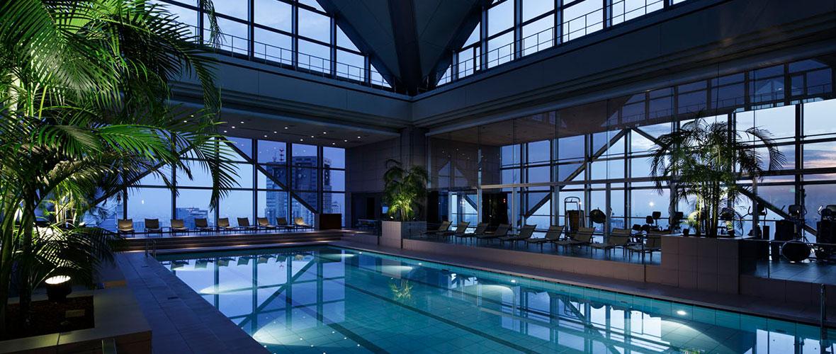 写真:パークハイアット東京のフィットネス施設
